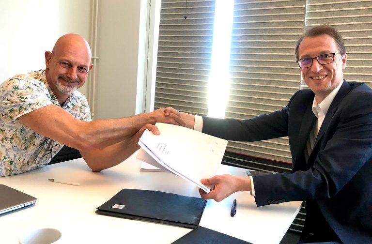 E2C skriver historiskt avtal med Klövern.