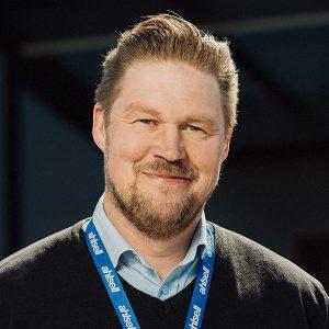 Johan Jättne, försäljningschef butik Ahlsell