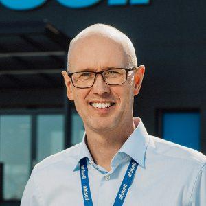 Magnus Johansson, regionchef på Ahlsell