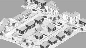 Besiktning samt samordning lägenheter i Ribby Ängar, Haningen
