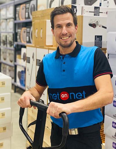 Peter Röstlund, butikschef NetOnNet, Norrköping