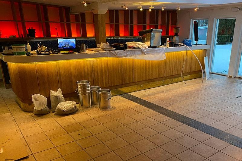 Bar före renovering